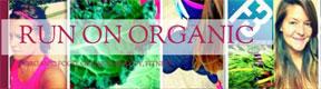 Run On Organic website