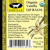 organic vanilla lip balm