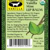 organic vanilla mint lip balm